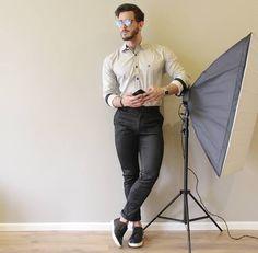 Já escolheu seu look do final de semana? A @camisaria_fascynios tem a sugestão de camisa ideal para você. 😉💙 #lookfascynios #modamasculina #modajovem #fashion #moda #camisariafascynios #estilo #looks #lookoftheday #lookdodia #lookmasculino #photooftheday #modaparaeles #camisas #model #modelo #ootd #blessed #lifestyle #photoshoot #camisamasculina