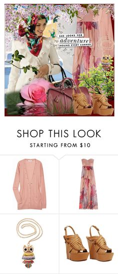 """""""I believe in God, like a blind faith in the sun ...not because he sees her, but because he feels it .."""" by missiraq ❤ liked on Polyvore featuring Sonia by Sonia Rykiel, TIBI, Louis Vuitton, H&M, Kate Spade, Lanvin and Umbra"""