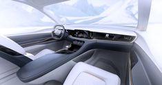 CES fiat chrysler to unveil airflow vision concept with all-digital interior Car Interior Sketch, Car Interior Design, Tesla Interior, Futuristic Interior, Interior Rendering, Interior Concept, Automotive Design, Audi Tt, Ford Gt
