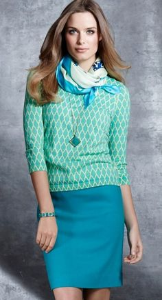 pretty mix of colour - from Ann Taylor