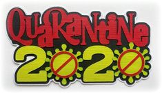 Scrapbook Die Cut title Quarantine 2020 Premade paper piecing 3d die cut for scrapbooks cards planner project life by my tear bears kira by MyTearBears on Etsy School Scrapbook, Scrapbook Titles, Scrapbook Stickers, Scrapbook Cards, Project Planner, Treasure Boxes, Smash Book, Box Design, Paper Piecing