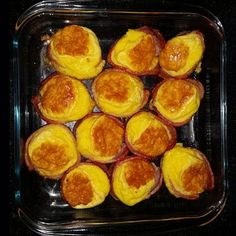 Bacon Egg Muffins Banting Breakfast, Breakfast Recipes, Tim Noakes Diet, Bacon Egg Muffins, Quick And Easy Breakfast, Griddle Pan, Low Carb, Eggs, Egg