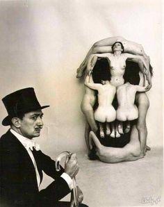 salvador dali, skull, and dali image