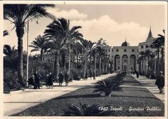 Tripoli Libya 1940 حدائق البلدية