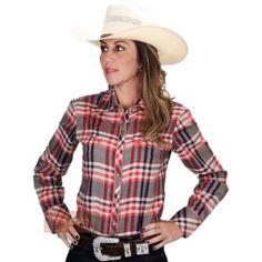 395dc2d89e camisa xadrez country feminina com chapeu. Cowgirl ...