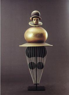 Oskar Schlemmer, Triadisches Ballett (Triadic Ballet Costume), 1922