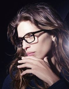 Tweed Touch – The fall 2012 eyewear campaign from Chanel stars French actress and director Maïwenn, lensed by Karl Lagerfeld. Maïwenn wears minimal makeup with… Chanel Fashion, New Fashion, Fashion News, Fashion Women, Karl Lagerfeld, Chanel Glasses, Discount Sunglasses, Chanel News, Chanel Chanel