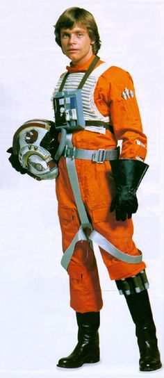 star wars x wing fighter pilot costume | Luke Skywalker X-Wing Pilot