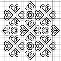 imaginesque free blackwork pattern