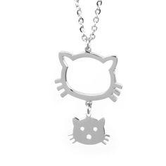 Dámský náhrdelník West Side Hello Kitty z chirurgické oceli West Side, Hello Kitty, Personalized Items