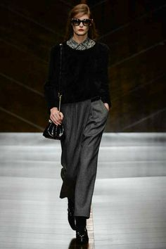 Trussardi | Fall 2014 Ready-to-Wear Collection | Style.com [Photo: Yanni Vlamos / Indigitalimages.com]