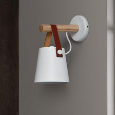 LED Wall Lamps Abajur for Living Room Wall Sconces Light Nordic Wooden belt Wall Light White/Black Wooden Wall Lights, Wooden Lanterns, Wood Wall, Bedside Lighting, Wall Sconce Lighting, Wall Sconces, Wall Mounted Bedside Lights, Luxury Lighting, Interior Lighting