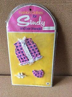 Unused Pedigree Sindy Fashion Clothes in Original Packaging | eBay
