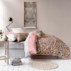 Mercer + Reid Betty Floral - Bedroom Quilt Covers & Coverlets - Adairs Online