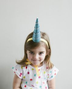 DIY Unicorn Party Hat // 31 F**king Adorable Things To Make For Babies