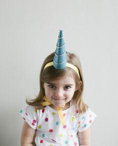DIY Unicorn Party Hat