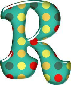 CH.B *✿* Letter Symbols, Alphabet And Numbers, Scrapbook Letters, Alphabet Templates, Birthday Numbers, Green Dot, Circus Theme, School Decorations, Album Design