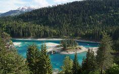Der klitzekleine Caumasee bietet Idylle pur Seen, Switzerland, Hardcore, River, Activities, Adventure, Places, Outdoor, Holidays