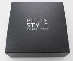 Rachel Zoe Box of Style Spring 2015 Subscription Box Review Box