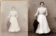 Photoshop Tutorials for restoring  and colorizing photos - 15 links