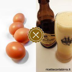 Ricetta dello zabaione alla birra d'abbazia (ma puoi farlo anche con una semplice birra doppio malto). Ottimo per guarnire la colomba pasquale!