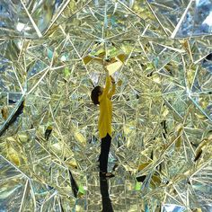 """Wink Space"" Walk-In Kaleidoscope Installation By Saya Miyazaki and Masakazu Shirane | Hi-Fructose Magazine"