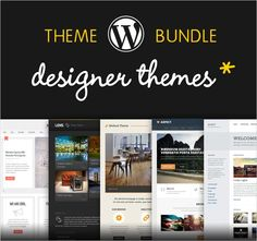 5 Responsive WordPress Themes from DesignerThemes - only $27! - MightyDeals