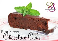 Flourless Chocolate Cake Recipe | Positively Splendid {Crafts, Sewing, Recipes and Home Decor}