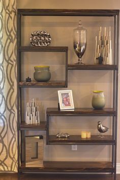 James+James custom Steel and Solid Wood Shelving units! Now available to order in store or on our website.