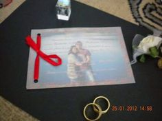 Despre invitatii si altele: Invitatia nunta handmade cu poza