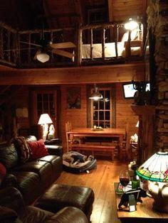 Mountain Cabin Interior- Sdh Design Solutions Facebook: Sdh Design Solutions, Inc www.sdhdesigns.com