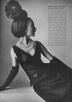 Brigitte Bauer, March Vogue 1964 | Flickr - Photo Sharing!