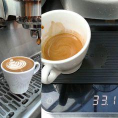 Good morning  #calibrate #passion #work #latteartgram #latteartporn #latteart #latte #espresso #rosetta #rosettalatte #cappucino #coffeetime #coffeeart #coffee #coffeegram #baristalife #barista #doitfromtheheart #withpassion by mariokhrap