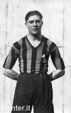 Giuseppe Meazza, Inter Milan (1927–1940, 348 apps, 241 goals + 1946–1947, 17 apps, 2 goals)