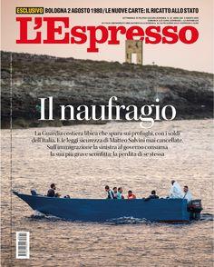 La copertina dell'Espresso in edicola e online da domenica 2 agosto