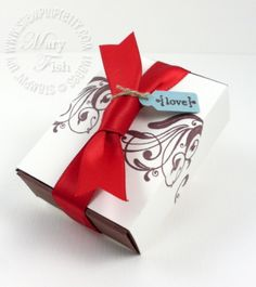 Stampin up wings of friendship matchbox die