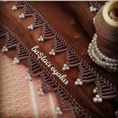 Most Wanted Crochet Writing Towel Edge Needlework Models Stitch Crochet, Mode Crochet, Crochet Lace Edging, Single Crochet Stitch, Cotton Crochet, Bead Crochet, Crochet Borders, Baby Knitting Patterns, Crochet Stitches Patterns