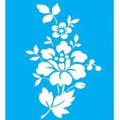 Stencil-para-Pintura-20x15-Flores-LSM-018---Litocart
