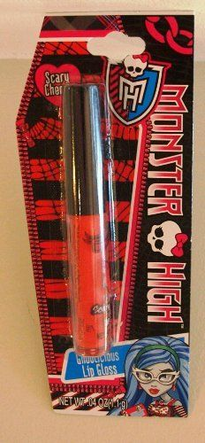 Monster High Lip Gloss Ghoulicious (Scary Cherry) by Mattel. $6.49. Ghoulicious Lip Gloss. .04oz. Scary Cherry. Monster High Lip Gloss Ghoulicious (Scary Cherry)
