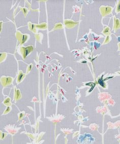 Liberty Art Fabrics Spring Silhouette A Tana Lawn Cotton
