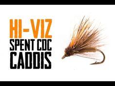 Hi-Viz Spent CDC Caddis - North 40 Fly Shop