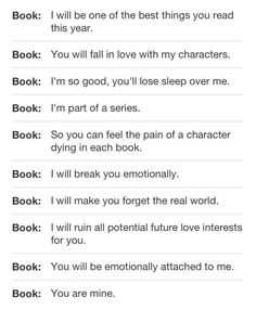 That's what The Mortal Instruments & The Infernal Devices did to me. Curse you Cassandra Clare! Curse you! <<<<<< it was every singe fandom I'm in for me. I think I win I Love Books, Good Books, Books To Read, Amazing Books, Up Book, Book Of Life, Book Memes, Book Quotes, Gone Michael Grant