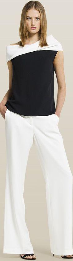 Carolina Herrera women fashion outfit clothing style apparel @roressclothes closet ideas