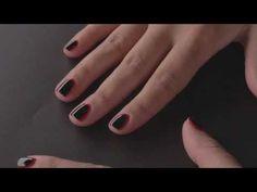 Tuto Nail Art Facile We Love Nail Art : Ruffian Nail Art - YouTube