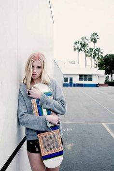Schoolgirl Skater Catalogs - The Luv AJ SS 2012 Lookbook Features Cool Casuals (GALLERY)