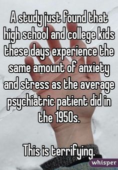 A study just found....