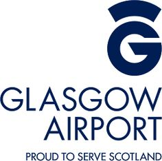 Glasgow Airport logo #GLA in Scottland.   design: www.designlinecreative.co.uk