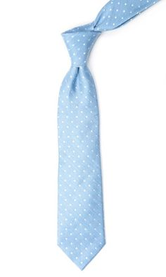 Dotted Dots Ties - Light Blue | Ties, Bow Ties, and Pocket Squares | The Tie Bar