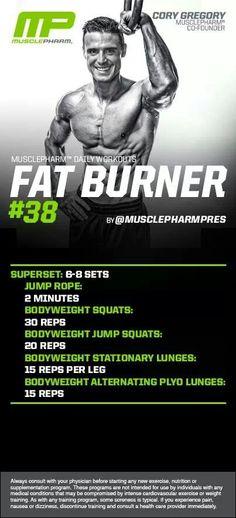 MusclePharm Fat Burner#38