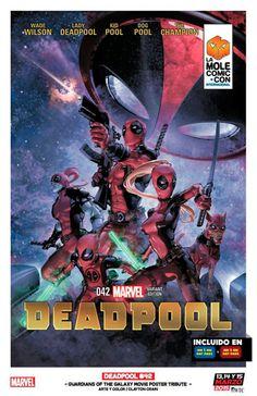 #Deadpool #Fan #Art. (Deadpool #42 La Mole Comic Con Variant Cover) By: Clayton Crain. (THE * 5 * STÅR * ÅWARD * OF: * AW YEAH, IT'S MAJOR ÅWESOMENESS!!!™)[THANK Ü 4 PINNING!!!<·><]<©>ÅÅÅ+(OB4E)